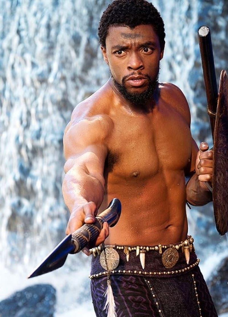 Chadwick Boseman (Pantera Negra) preocupa por su baja de peso