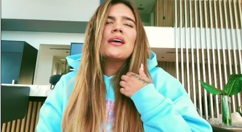 """Karol G hace un cover de """"El hombre que yo amo"""" de Myriam Hernández y lo dedica a su padre"""