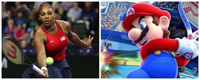 Serena Williams, Maria Sharapova y otras figuras se enfrentarán en un torneo virtual de Mario Tennis