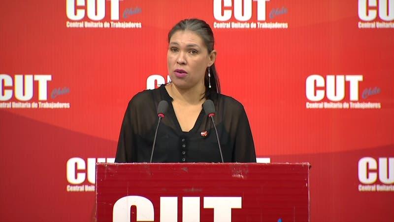 """Bárbara Figueroa: """"No queremos que los trabajadores sean los que paguen los costos de esta crisis"""""""