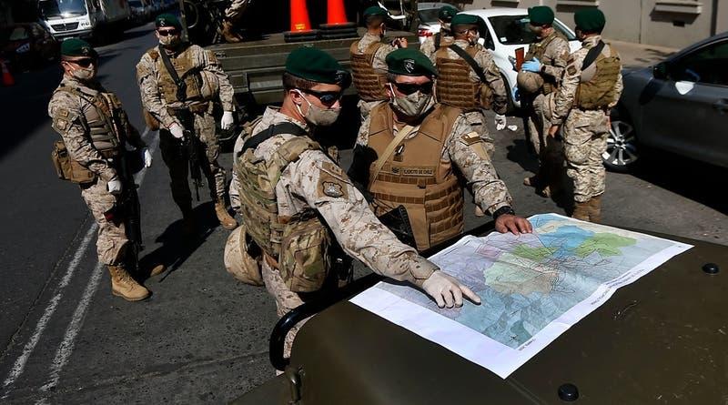 Ministro Espina: Ningún Ejército es capaz de cubrir cada esquina
