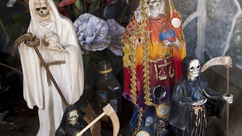San La Muerte: Qué significa la imagen encontrada junto a cráneos en cabaña de Algarrobo