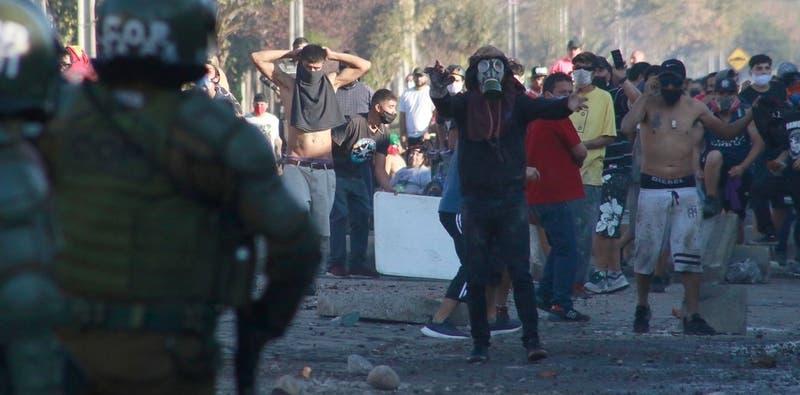 Gobierno se querella contra 15 personas tras jornada de incidentes en El Bosque
