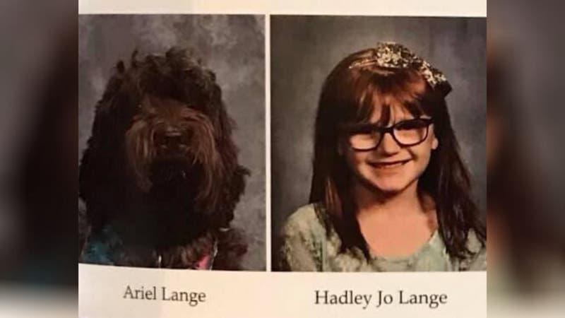 [FOTOS] La conmovedora razón por la que una perrita fue incluida en un anuario escolar