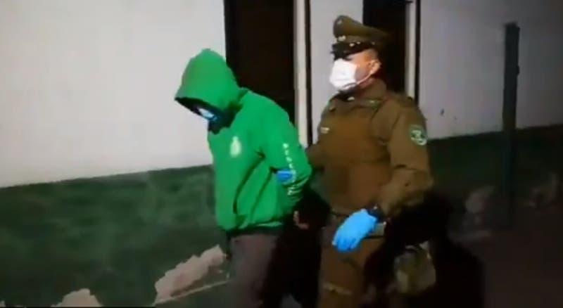 Avaluado en $80 millones: detienen seis sujetos por robo a local de confites y abarrotes en Santiago