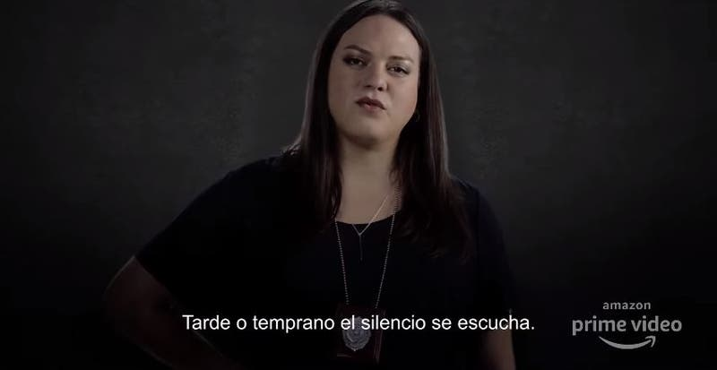 Daniela Vega en primer adelanto de serie La Jauría de Amazon