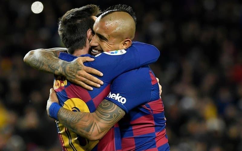 ¡Volvió con todo! Arturo Vidal marca un golazo en el retorno de la liga española