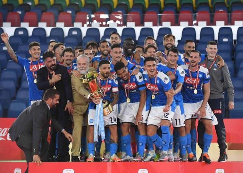 Napoli vence en penales a la Juventus y se queda con la Copa Italia