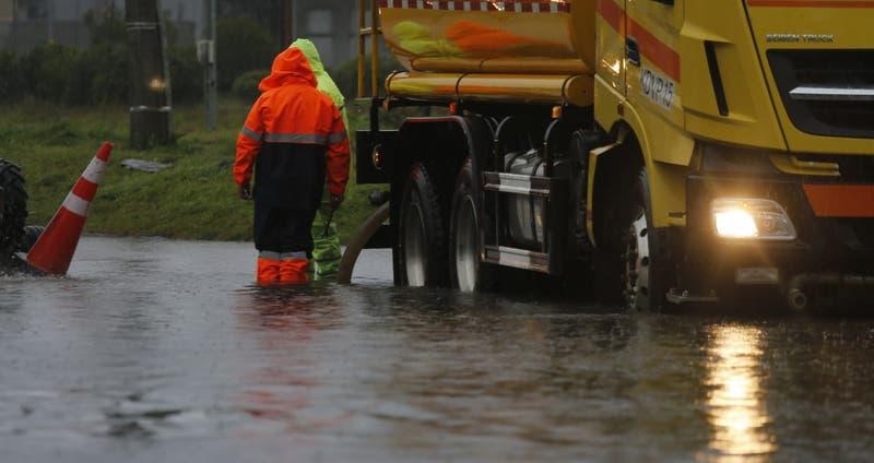 Lluvias provocan inundaciones en distintas comunas del Biobío