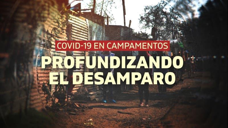 Reportajes T13: COVID-19 en campamentos, la crisis de los más vulnerables