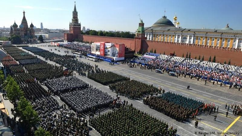 Rusia conmemora los 75 años de la victoria sobre la Alemania nazi