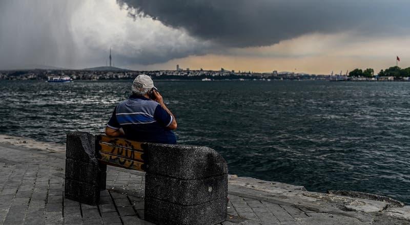 Tormenta con tromba marina generó pánico en Turquía