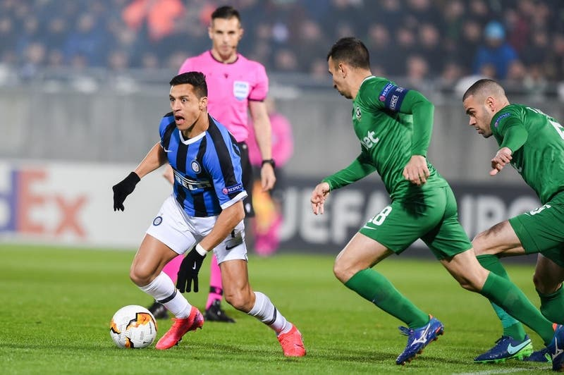 La linda asistencia de Alexis Sánchez en el empate del Inter ante el Sassuolo por la Serie A