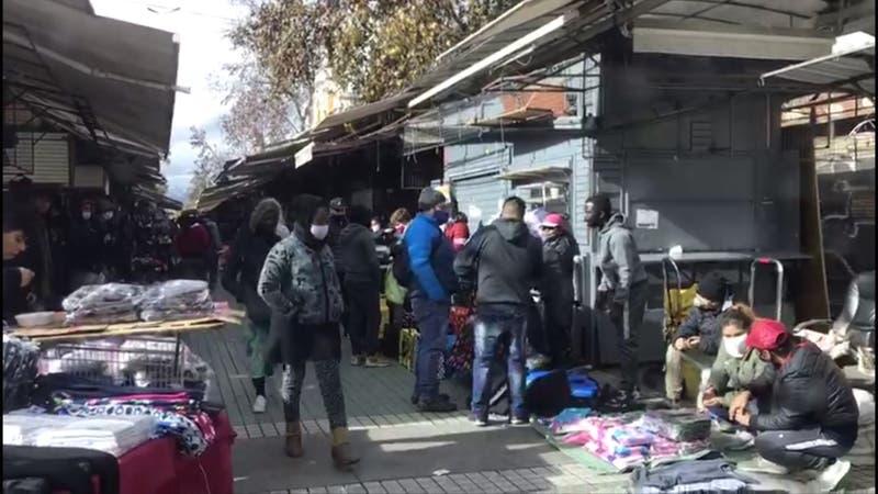 Barrio Meiggs convertido en tierra de nadie durante la cuarentena