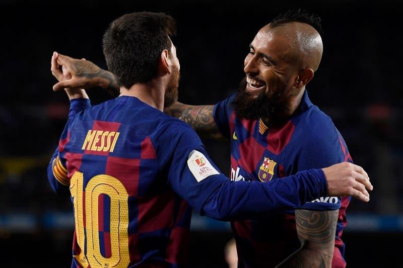 La formación del Barcelona para el partido con el Celta de Vigo