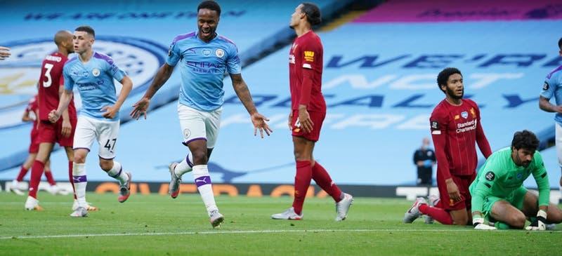 Manchester City golea y arruina el festejo del Liverpool campeón de la Premier League