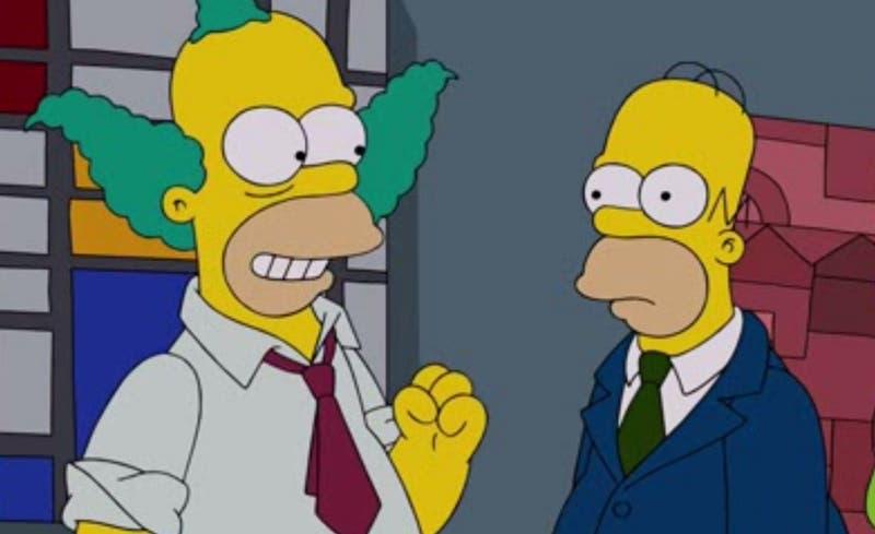Creador de 'Los Simpson' explica por qué dibujó al payaso Krusty igual que Homero