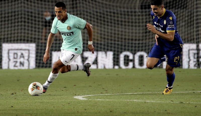 Inter iguala en su visita a Hellas Verona con Alexis durante todo el partido