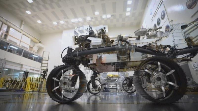 [VIDEO] ¿Hubo vida en Marte? Un robot lo responderá