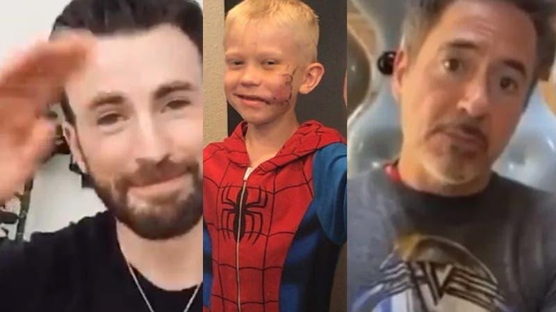 Avengers reunidos: Los famosos que han solidarizado con el niño que salvó a su hermana de un perro