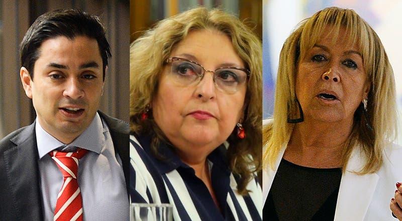 Diputados Carter, Amar y Troncoso renuncian a la UDI tras ser citados al Tribunal Supremo