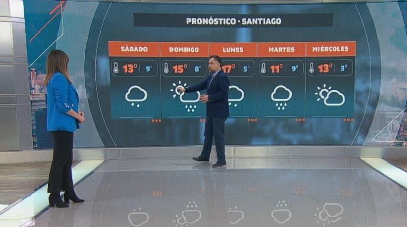 Frío y posibles lluvias durante este fin de semana en la zona central