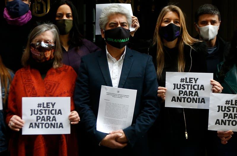 Ley Justicia Para Antonia: Presentan proyecto para apoyar más a víctimas de delitos sexuales