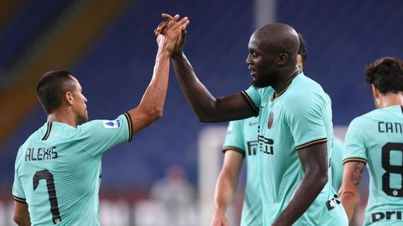 Lukaku y Alexis Sánchez permiten al Inter ganar 3-0 en Génova