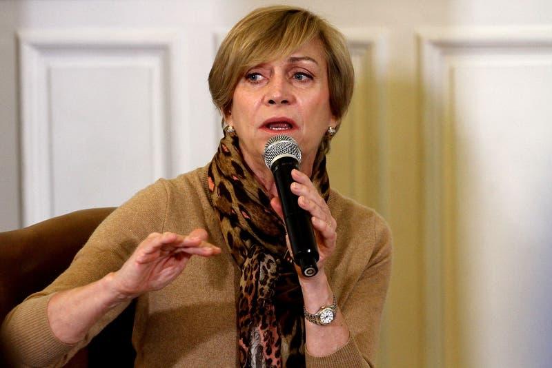 "Evelyn Matthei: ""Nadie me ha llamado para ser ministra del Interior. Ojalá que no me llamen"""
