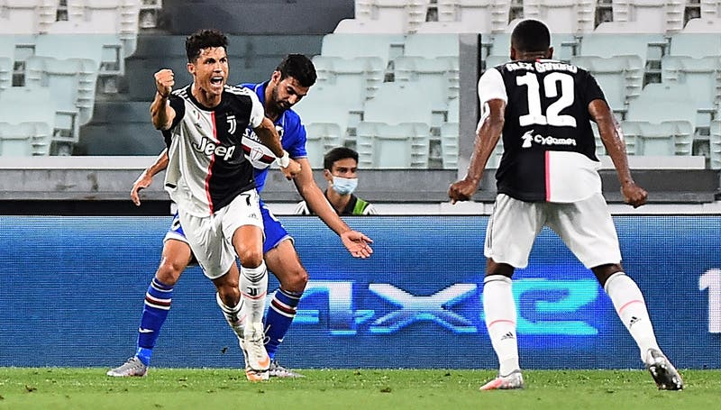Juventus se consagra campeona de la Serie A por novena vez consecutiva