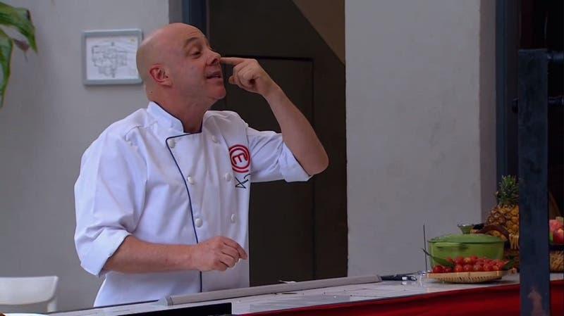 Masterhef Celebrity: El comentario de César Campos que desató la furia del chef Jorge Rausch