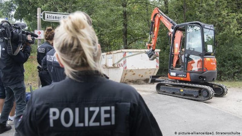 Policía alemana concluye excavaciones en jardín por caso de Maddie McCann