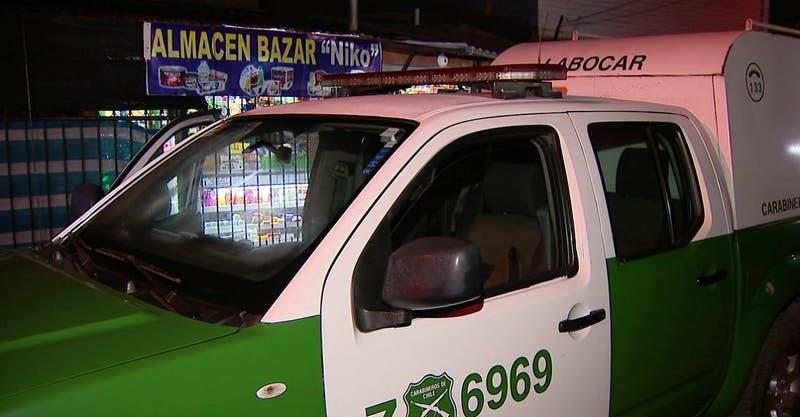 Dueño de negocio resulta con dos heridas a bala tras oponer resistencia a robo en Maipú