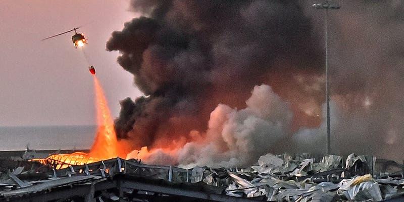 Lo que se sabe de las explosiones en Beirut