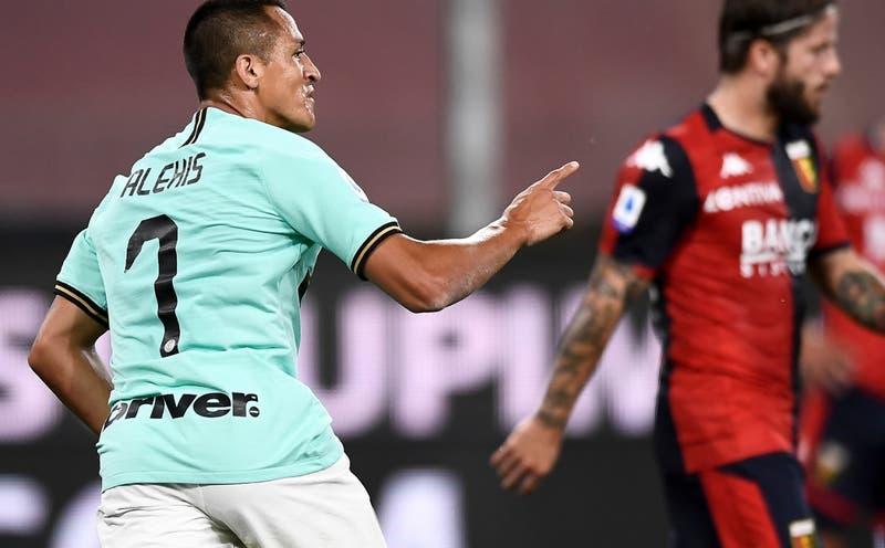 Incluyen a Alexis Sánchez en ranking de los mejores de la Serie A italiana