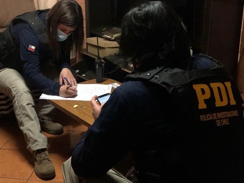 PDI detiene a sujeto en El Bosque por producción y almacenamiento de material pornográfico infantil