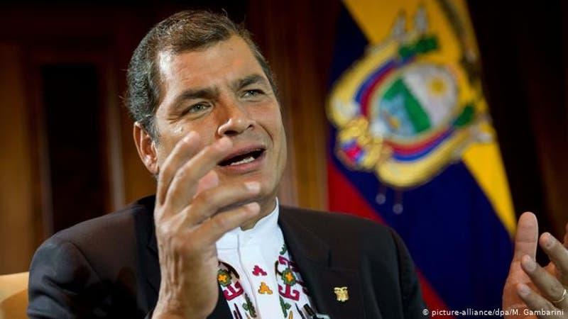 Correa aspirará a vicepresidencia de Ecuador en elecciones de 2021