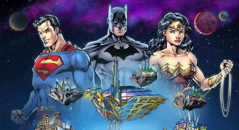 Personajes de DC. Imagen: DC Comics