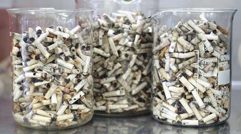 El negocio que convierte las colillas de cigarro en un material completamente reciclable