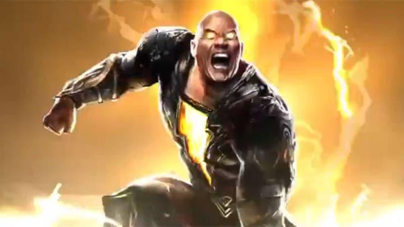 """[VIDEO] Revelan imágenes de """"La Roca"""" como Black Adam, su primer personaje en el Multiverso DC"""