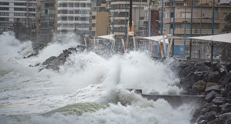 Emiten aviso de marejadas desde el Golfo de Penas hasta Arica