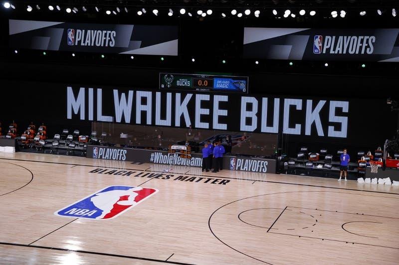 NBA, playoffs: Milwaukee no se presenta a jugar en protesta