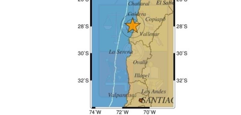 Más de una veintena se han registrado en el norte tras temblor 7 en Huasco