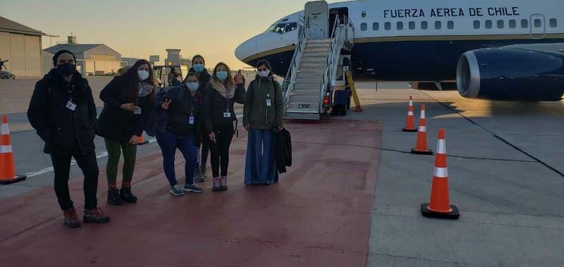 Especialistas de la RM viajan a prestar apoyo a la región de Magallanes en combate al COVID-19