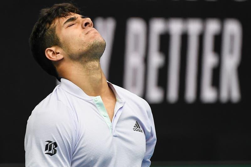 """Garin molesto ante críticas tras derrota en US Open: """"Sorprendido de la cantidad de campeones"""""""