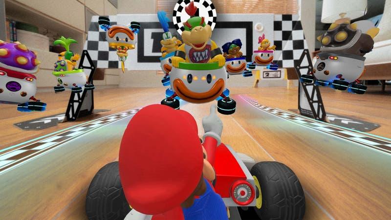 Para hacer carreras en tu casa: Nintendo anuncia Mario Kart basado en realidad aumentada