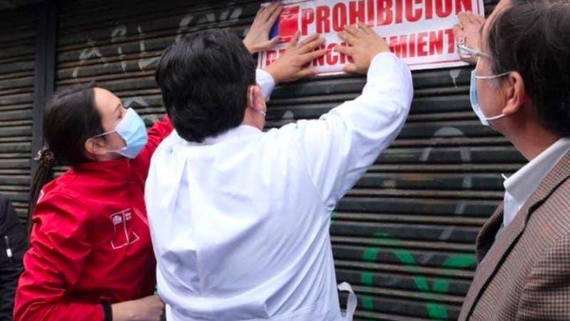 Cierran carnicería en Santiago Centro por no cumplir con protocolos Covid-19
