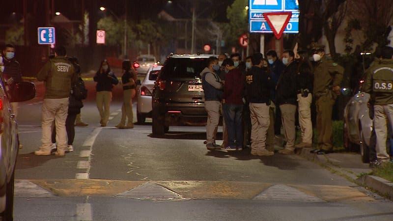 Violenta noche en el sector sur oriente deja a carabineros heridos y dos personas muertas