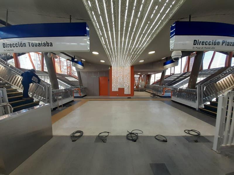Metro reabrirá este lunes tres estaciones en Línea 4 en La Florida y Puente Alto