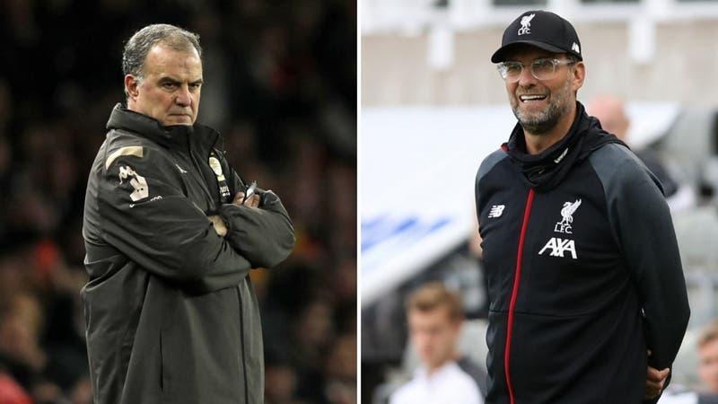Liverpool vs. Leeds United: Horario y dónde ver el choque de Klopp y Bielsa